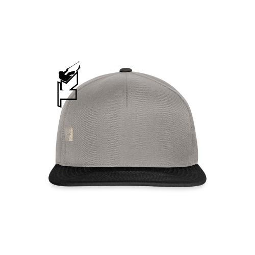 2017 TK Logo Noir sanstexte - Casquette snapback
