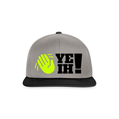 yeih logo HUGE png - Snapback Cap