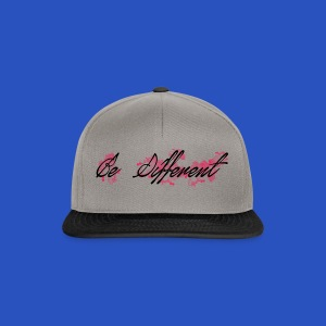 be_different - Snapback Cap