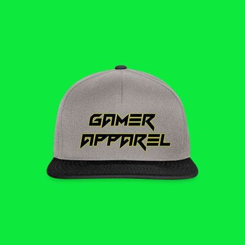 Gamer apparel Gold glow - Snapback Cap