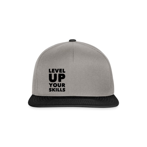 LEVEL UP YOUR SKILLS - Snapback Cap