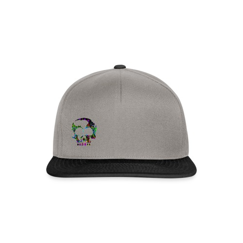 color skull - Snapback cap