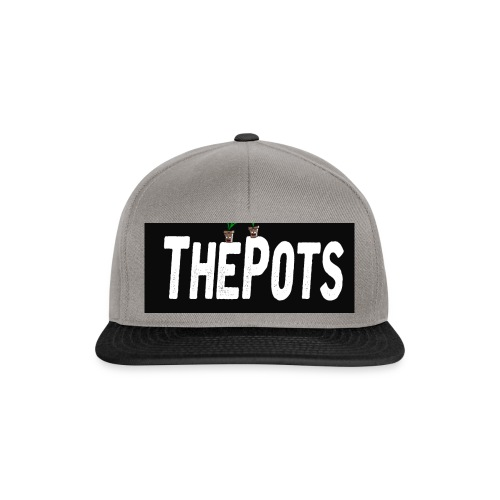 ThePots Merchendise - Snapbackkeps