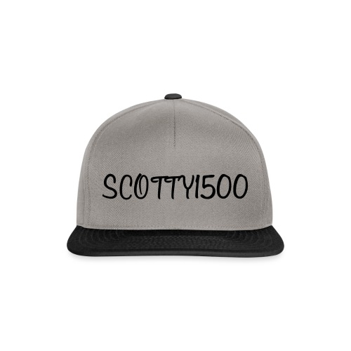 Scotty1500 Hat (Grey) - Snapback Cap