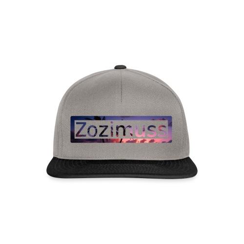 Zozimuss sunset. - Snapback Cap