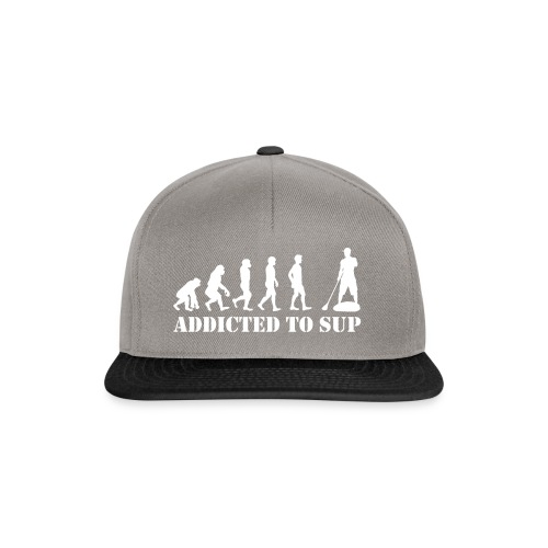 Evolution Addicted to SUP White - Casquette snapback
