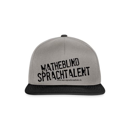 Sprachtalent Matheblind S - Snapback Cap