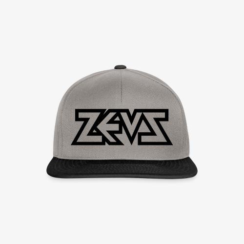zeus logo b - Snapback Cap