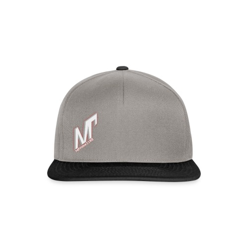 MP weiss rot - Snapback Cap