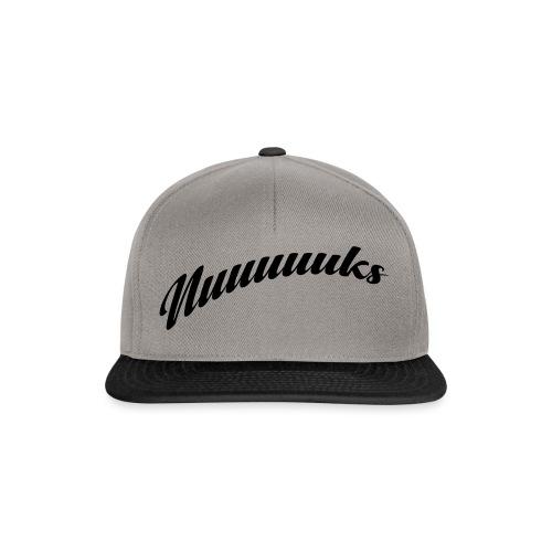 nuuuuks logo - Snapback cap
