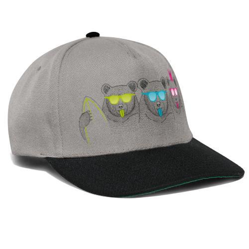BABO Bärenfamilie - Snapback Cap