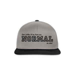 NORMAL - Snapback Cap