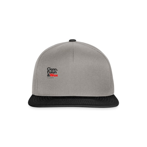 Clean,polish en wax - Snapback cap