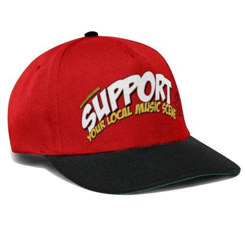 Support local music scene - Aktion - Snapback Cap
