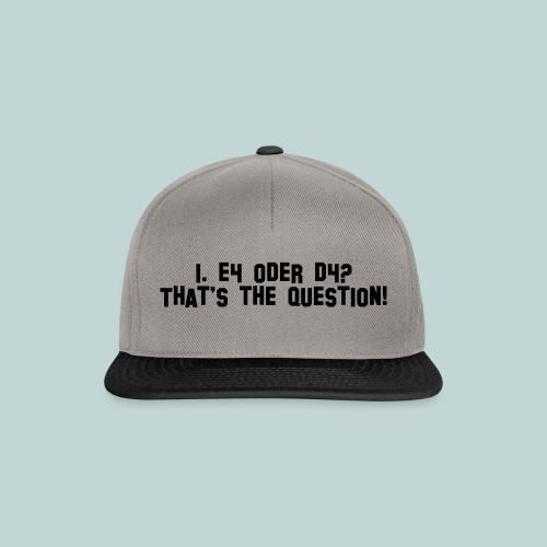 e4ord4 - Snapback Cap