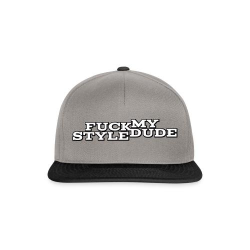 White T-Shirt - FMSD - Snapback Cap