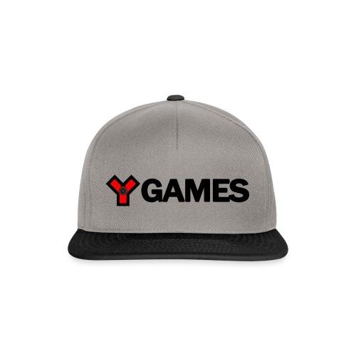 ygames-logo_transparent - Casquette snapback