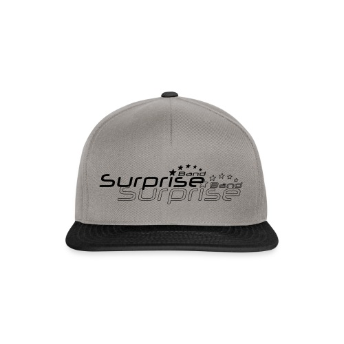 Logo Suprise Band mit Cut-Out - Snapback Cap