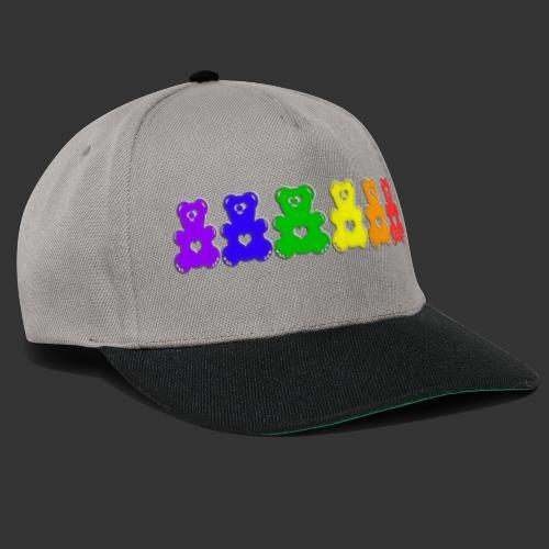 Bärenlust Regenbogen Bären-Reihe - Snapback Cap