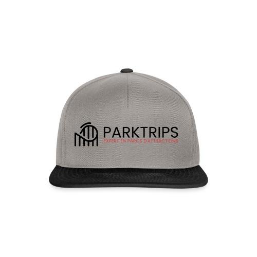 Park Trips - Logo Noir - Casquette snapback