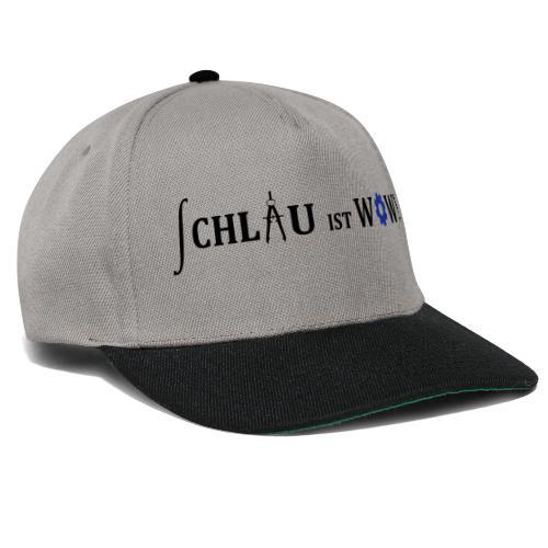 Schlau ist wow - ohne URL - Snapback Cap