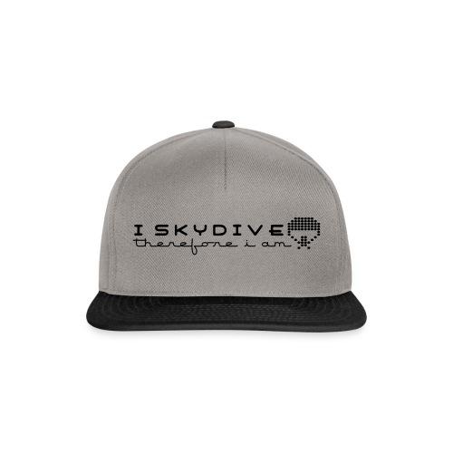 i_skydive_therefore_i_am - Snapback Cap