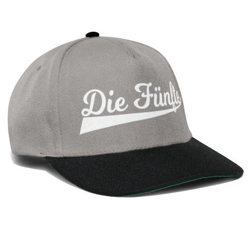 Die Fünfte Retro - Weiß - Snapback Cap