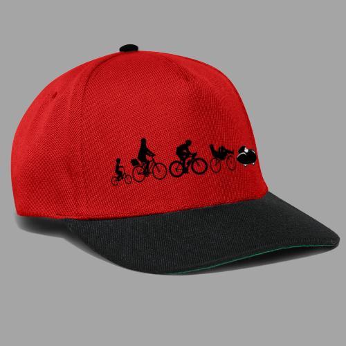 Bicycle evolution black Quattrovelo - Snapback Cap