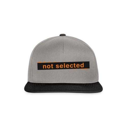 Not Selected - Snapback cap