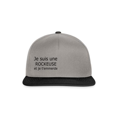 Rockeuse - Casquette snapback