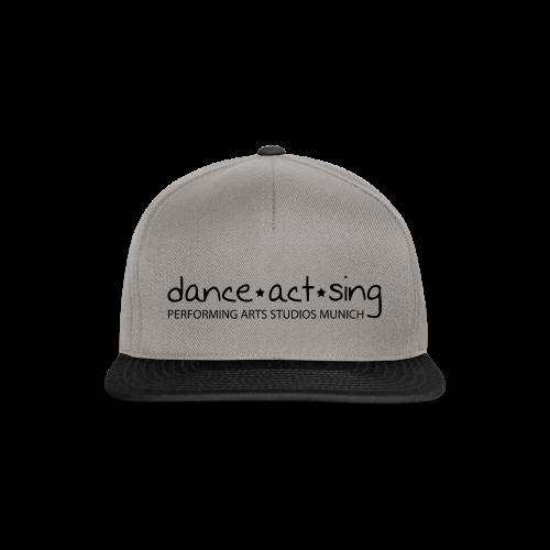 Dance!Act!Sing! *black* - Snapback Cap