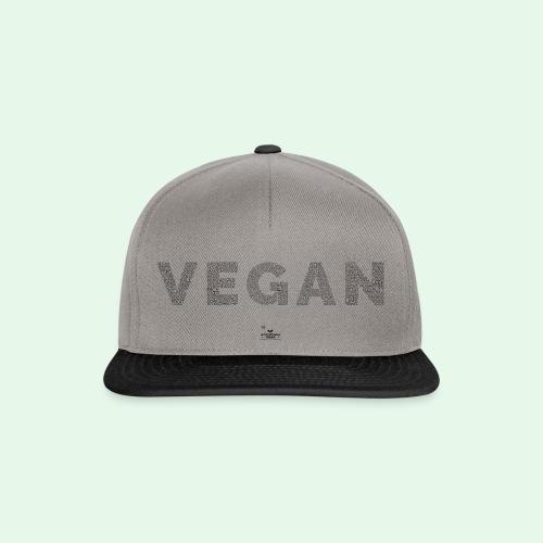 Vegan - Black - Snapbackkeps