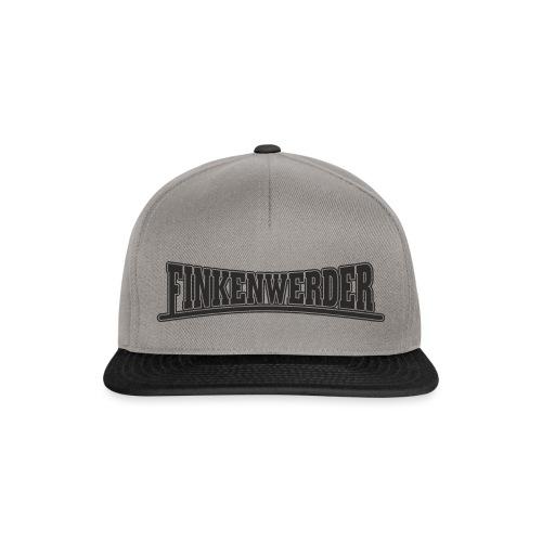 Finkenwerder schwarz - Snapback Cap