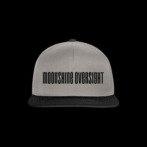 Moonshine Oversight logo - Casquette snapback