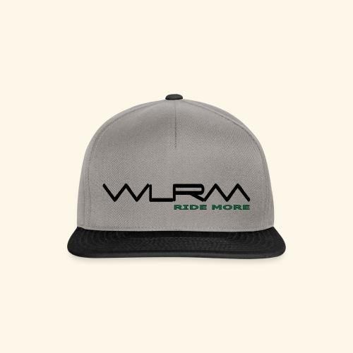 WLRM Schriftzug black png - Snapback Cap