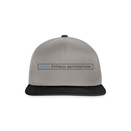 Female More fitness Motivation white/pink - Snapback Cap