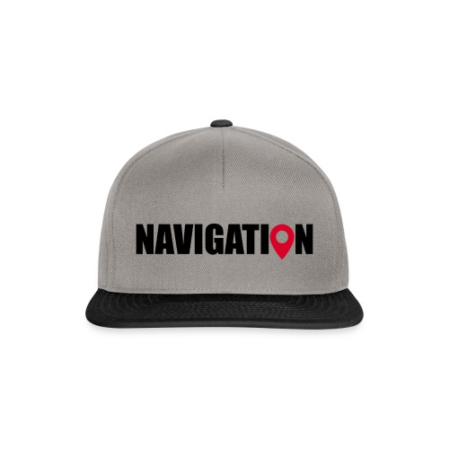 NAVIGATION - Casquette snapback