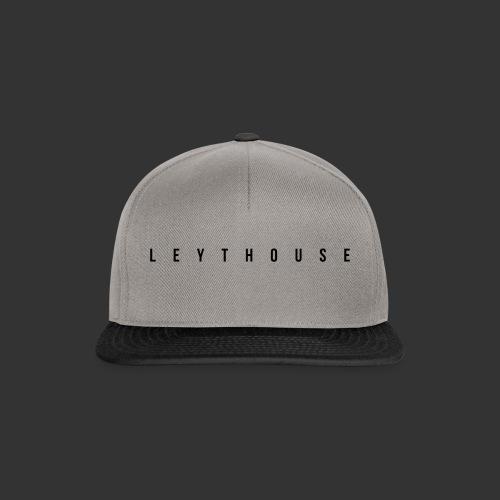 logo black wide - Snapback Cap