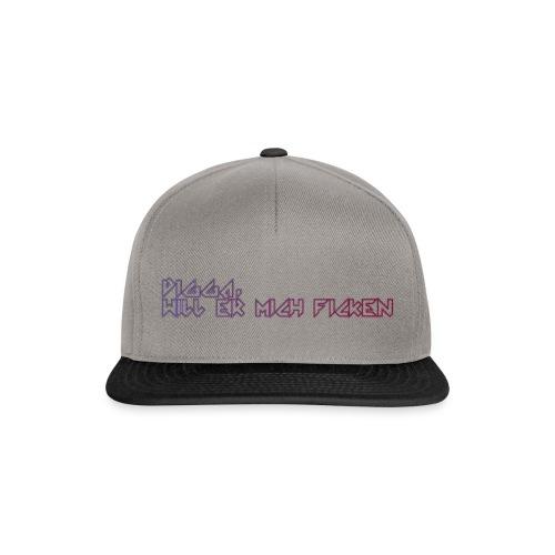 Digga_will_er_mich_fick-n - Snapback Cap