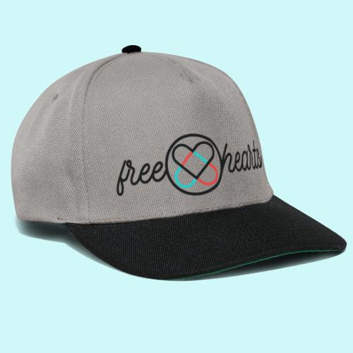 freehearts with color logo - Snapback Cap