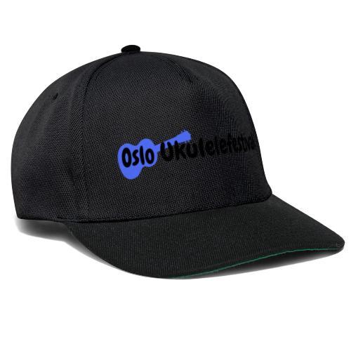Oslo Ukulelefestival blå logo - Snapback-caps