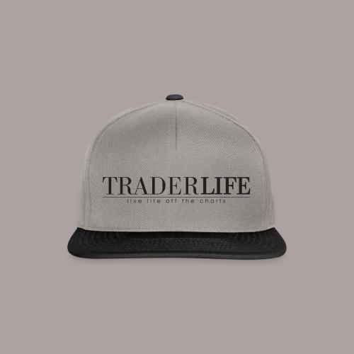 TraderLife Logo Black - Snapback Cap