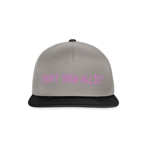 Fickt Eusch Allee (pink) - Snapback Cap