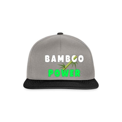 Bamboo Power T-shirt - Snapback cap