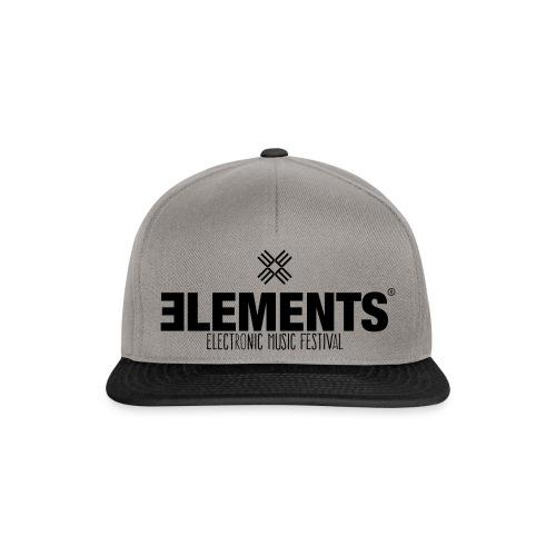 Elements Logo - Snapback Cap
