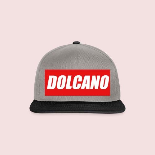 DOLCANO Box Logo Short Sleeved T-Shirt. - Snapback Cap