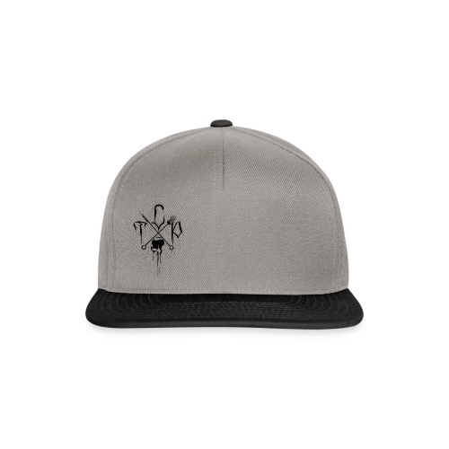 Small studio logo (black) - Snapback Cap