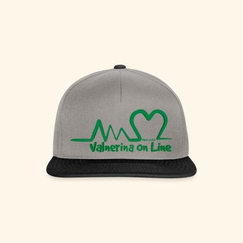 logo verde Associazione Valnerina On line - Snapback Cap