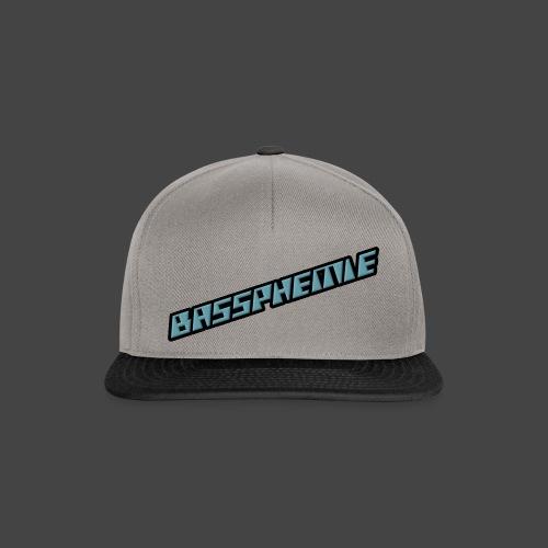 Bassphemie - Blau (Original Design) - Snapback Cap