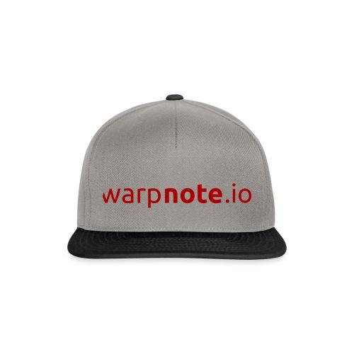 WarpNote Schriftzug - Snapback Cap